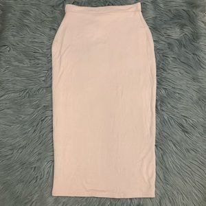 🆕 Missguided Candace Nude Pencil Skirt